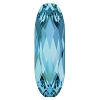 Swarovski 4161 Long Oval Fancy Stone 15x5mm Aqua (72 Pieces)