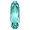 Swarovski 4161 Long Oval Fancy Stone 15x5mm Light Turquoise (72 Pieces)