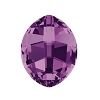 Swarovski 4224 Pure Leaf Fancy Stone 10x8mm Amethyst (144 Pieces)