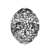 Swarovski 4224 Pure Leaf Fancy Stone 10x8mm Crystal Black Patina (144 Pieces)