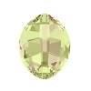 Swarovski 4224 Pure Leaf Fancy Stone 10x8mm Crystal Luminous Green (144 Pieces)