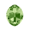 Swarovski 4224 Pure Leaf Fancy Stone 23x18mm Peridot (20 Pieces)