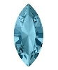 Swarovski 4228 Xilion Navette Fancy Stone 5x2.5mm Aqua (720 Pieces)