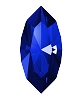 Swarovski 4228 Xilion Navette Fancy Stone 10x5mm Majestic Blue (360 Pieces)