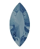 Swarovski 4228 Xilion Navette Fancy Stone 10x5mm Denim Blue (360 Pieces)