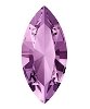 Swarovski 4228 Xilion Navette Fancy Stone 10x5mm Light Amethyst (360 Pieces)