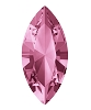Swarovski 4228 Xilion Navette Fancy Stone 10x5mm Light Rose (360 Pieces)
