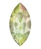 Swarovski 4228 Xilion Navette Fancy Stone 10x5mm Crystal Luminous Green (360 Pieces)