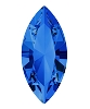 Swarovski 4228 Xilion Navette Fancy Stone 10x5mm Sapphire (360 Pieces)