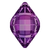 Swarovski 4230 Lemon Fancy Stone 14x9mm Amethyst (144 Pieces)
