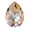 Swarovski 4320 Pear Fancy Stone 18x13mm Crystal Peach DeLite