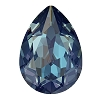 Swarovski 4320 Pear Fancy Stone 14x10mm Crystal Royal Blue DeLite (144 Pieces)