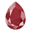 Swarovski 4320 Pear Fancy Stone 18x13mm Crystal Royal Red