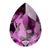 Swarovski 4320 Pear Fancy Stone 18x13mm Amethyst
