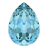 Swarovski 4320 Pear Fancy Stone 10x7mm Aqua (144 Pieces)
