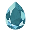 Swarovski 4320 Pear Fancy Stone 18x13mm Crystal Azure Blue