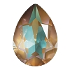 Swarovski 4320 Pear Fancy Stone 14x10mm Crystal Cappuccino DeLite (144 Pieces)