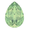 Swarovski 4320 Pear Fancy Stone 14x10mm Chrysolite Opal (144 Pieces)