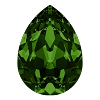 Swarovski 4320 Pear Fancy Stone 10x7mm Dark Moss Green (144 Pieces)