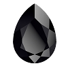 Swarovski 4320 Pear Fancy Stone 18x13mm Jet