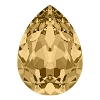 Swarovski 4320 Pear Fancy Stone 10x7mm Light Colorado Topaz (144 Pieces)