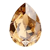 Swarovski 4320 Pear Fancy Stone 14x10mm Light Colorado Topaz (144 Pieces)