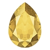 Swarovski 4320 Pear Fancy Stone 14x10mm Crystal Metallic Sunshine (144 Pieces)