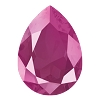 Swarovski 4320 Pear Fancy Stone 14x10mm Crystal Peony Pink (144 Pieces)