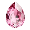 Swarovski 4320 Pear Fancy Stone 18x13mm Rose