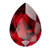 Swarovski 4320 Pear Fancy Stone 10x7mm Scarlet (144 Pieces)