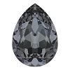 Swarovski 4320 Pear Fancy Stone 6x4mm Crystal Silver Night (360 Pieces)