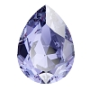 Swarovski 4320 Pear Fancy Stone 8x6mm Tanzanite (180 Pieces)
