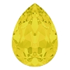 Swarovski 4320 Pear Fancy Stone 14x10mm Yellow Opal (144 Pieces)