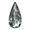 Swarovski 4322 Teardrop Fancy Stone 10x5mm Black Diamond (72 Pieces)