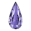 Swarovski 4322 Teardrop Fancy Stone 10x5mm Tanzanite (72 Pieces)