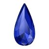 Swarovski 4322 Teardrop Fancy Stone 10x5mm Majestic Blue (72 Pieces)