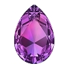 Swarovski 4327 Pear Fancy Stone 30x20mm Amethyst (24 Pieces)