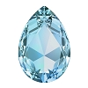 Swarovski 4327 Pear Fancy Stone 30X20mm Aqua (24 Pieces)