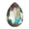 Swarovski 4327 Pear Fancy Stone 30X20mm Crystal Army Green DeLite (24 Pieces)