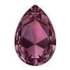 Swarovski 4327 Pear Fancy Stone 30X20mm Burgundy (24 Pieces)