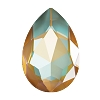 Swarovski 4327 Pear Fancy Stone 30X20mm Crystal Ochre DeLite (24 Pieces)