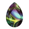 Swarovski 4327 Pear Fancy Stone 30x20mm Crystal Rainbow Dark (24 Pieces)