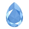 Swarovski 4327 Pear Fancy Stone 30X20mm Crystal Summer Blue (24 Pieces)