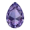 Swarovski 4327 Pear Fancy Stone 30X20mm Tanzanite (24 Pieces)