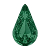 Swarovski 4328 Xilion Pear Fancy Stone 6x3.6mm Emerald (720 Pieces)