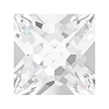 Swarovski 4418 Xilion Pointed Square Fancy Stone 6mm Crystal Unfoiled (216 Pieces)