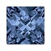 Swarovski 4418 Xilion Pointed Square Fancy Stone 6mm Montana (216 Pieces)