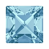 Swarovski 4428 Xilion Square Fancy Stone 5mm Aqua (360 Pieces)