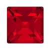 Swarovski 4428 Xilion Square Fancy Stone 5mm Scarlet (360 Pieces)