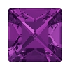 Swarovski 4428 Xilion Square Fancy Stone 8mm Amethyst (144 Pieces)
